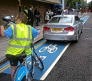 Bicycle Superhighway, London